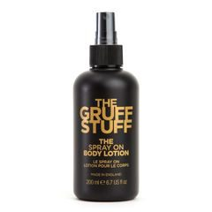 The Gruff Stuff Spray On Body Lotion (200 ml)