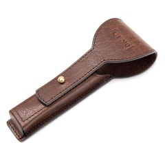 Captain Fawcett Handcrafted Leather Razor Pouch