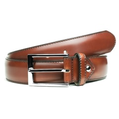 Berwick Cognac Leather Belt