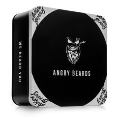 Angry Beards Small Gift Set for Beardsmen - Christopher The Traveller & Steve The CEO