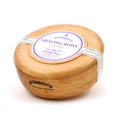 D.R. Harris Lavender Shaving Soap in Wooden Bowl (100 g)