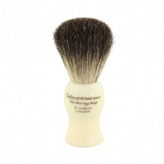 Taylor of Old Bond Street Pure Badger White Shaving Brush