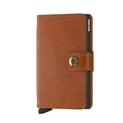 Secrid Miniwallet Original - Cognac & Brown