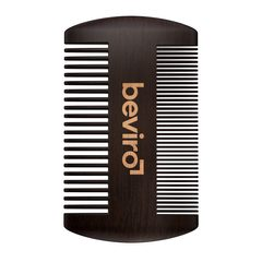 Beviro Pear Wood Beard Comb