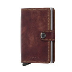 Secrid Miniwallet Vintage - Brown
