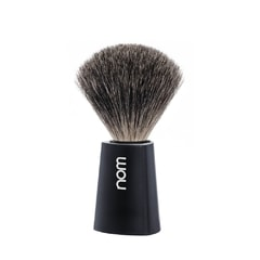 NOM CARL Pure Badger Black Shaving Brush