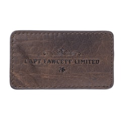Captain Fawcett Leather Case for Folding Pocket Moustache Comb (CF.87T)