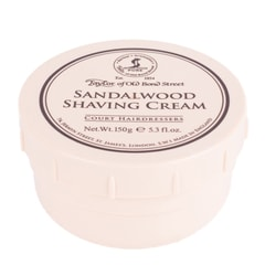 Taylor of Old Bond Street Shaving Cream - Sandalwood (150 g)