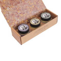 Captain Fawcett Moustache Wax Gift Set - Lavender, Sandalwood, Ylang Ylang