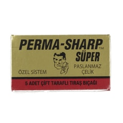 Perma-Sharp Super Double Edge Razor Blades (5 pcs)