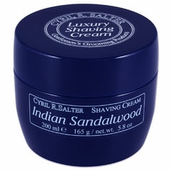 Cyril R. Salter Shaving Cream - Indian Sandalwood (200 ml)
