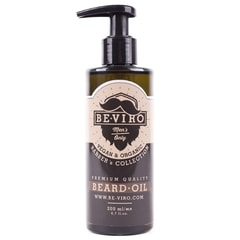 BE-VIRO Cedarwood, Pine and Bergamot Beard Oil (200 ml)