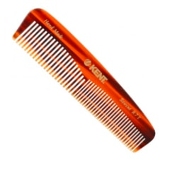 Kent Handmade Pocket Comb with Coarse & Fine Teeth