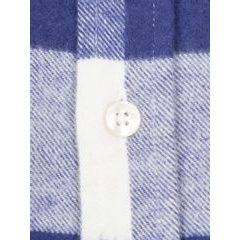 Portuguese Flannel Buffalo Shirt - Blue and White Checkers