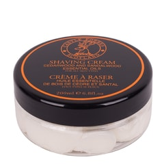 Castle Forbes Cedarwood & Sandalwood Shaving Cream (200 ml)