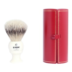 Kent BK8 Silvertip Badger Shaving Brush