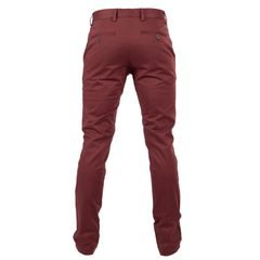 Sale: John & Paul Easy Chinos - Burgundy