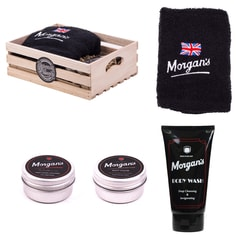 Morgan's Grooming & Washing Wooden Gift Box