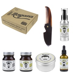 Morgan's Moustache & Beard Gift Set