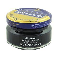 Saphir Beauté du Cuir Shoe Cream Polish - Black (50 ml)