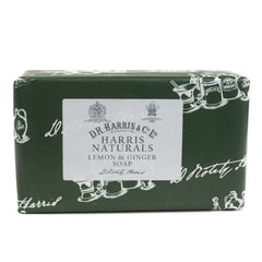 D.R. Harris Natural Ginger & Lemon Bath Soap (200 g)