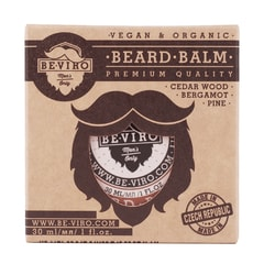 BE-VIRO Cedarwood, Pine and Bergamot Beard Balm (30 ml)