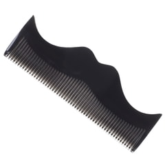 Morgan's Moustache-Shaped Grey Beard Comb