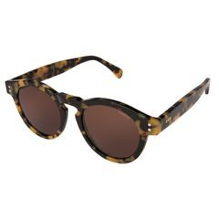 Komono Crafted Clement Tortoise Demi Sunglasses