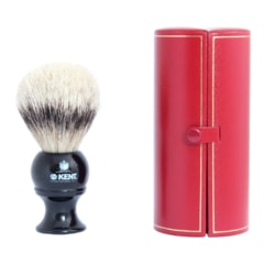 Kent BLK8 Silvertip Badger Shaving Brush