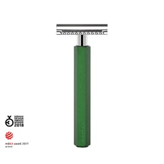 Mühle Hexagon by Mark Braun Closed Comb Green Safety Razor