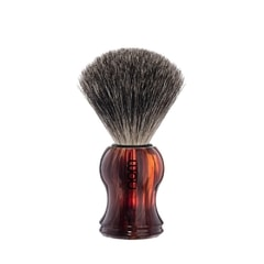NOM GUSTAV Pure Badger Faux Tortoise Shell Shaving Brush