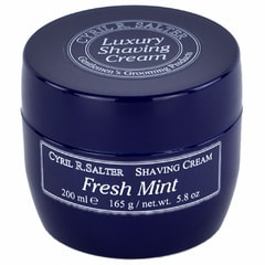 Cyril R. Salter Shaving Cream - Fresh Mint (200 ml)