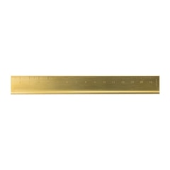 Traveler's Company Brass Ruler