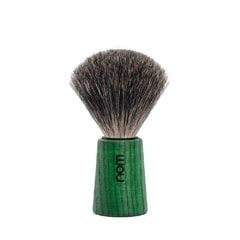NOM THEO Pure Badger Green Ash Shaving Brush