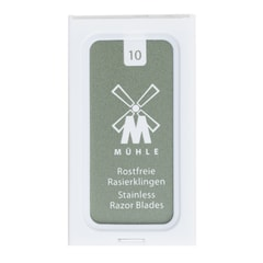 Mühle Double Edge Razor Blades (10 pcs)
