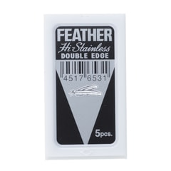 Feather 71s Extra Sharp Double Edge Razor Blades (5 pcs)