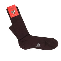 Di Carlo Egyptian Knee-Length Socks - Burgundy