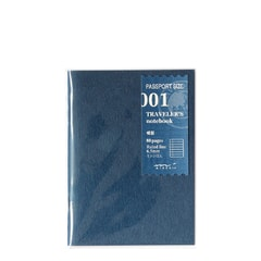 Refill #001: Lined Notebook (Passport)