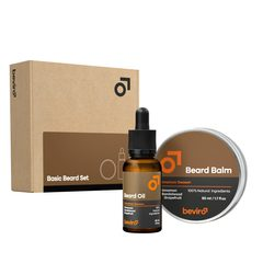 Beviro Cinnamon Season Basic Beard Gift Set
