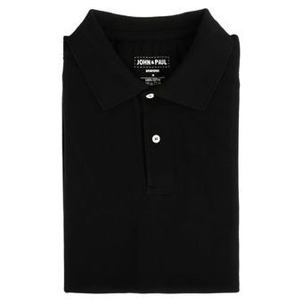 Mother-of-pearl Polo John & Paul - Black