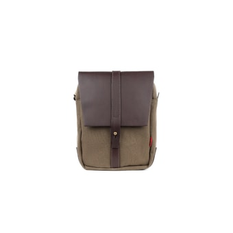 John Chapman Itchen Olive Shoulder Bag