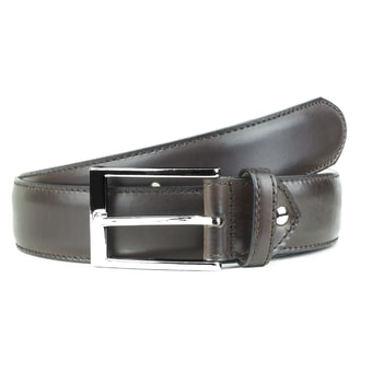 Berwick Dark Brown Leather Belt