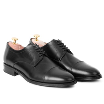 Elegant Derby John & Paul - Black