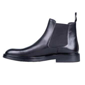 John & Paul Dashing Black Chelsea Boots