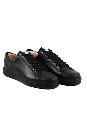 Novesta Itch All Black All Leather Sneakers