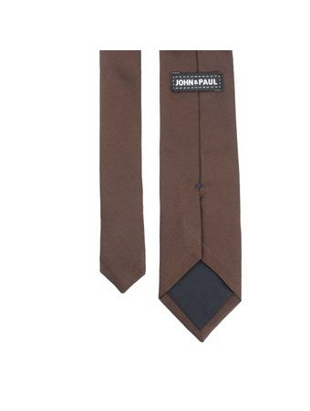 John & Paul Brown Necktie