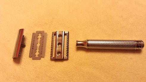 Mühle R89 Closed Comb Chrome Plated Safety Razor