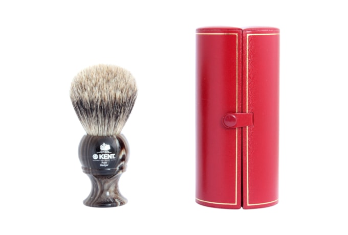 Kent H8 Pure Badger Shaving Brush