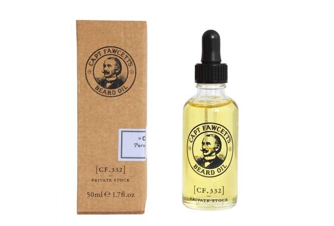 Captain Fawcett Private Stock Beard Oil (50 ml)