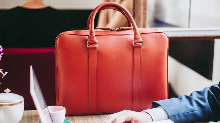 How we created our slim briefcase